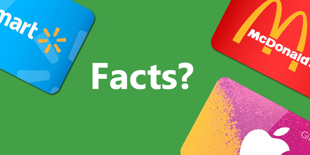 8 Surprising Gift Card Facts that you Must Know About!!!