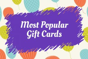most popular gift card